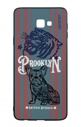 Samsung J4 Plus WHT Two-Component Cover - Brooklyn Tattoo Studio