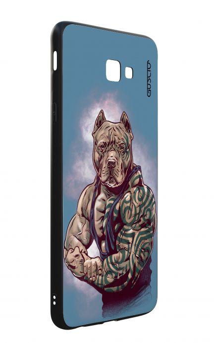 Cover Bicomponente Samsung J4 Plus - Pitbull Tattoo