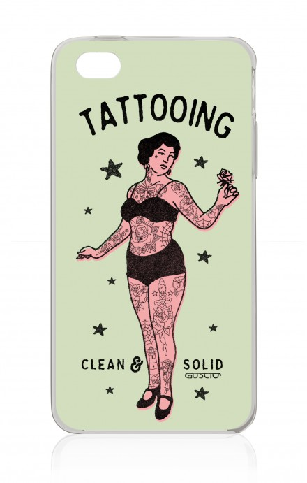 Cover Apple iPhone 4/4S - Lady Tattooing