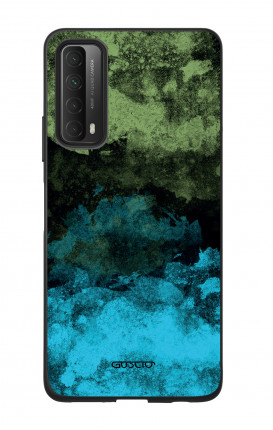 Cover Bicomponente Huawei P Smart 2021 - Mineral BlackLime