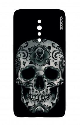 Cover Oppo Reno Z - Dark Calavera Skull
