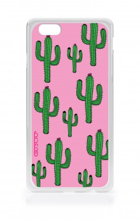 Cover Apple iPhone 7/8 - Cactus Pink Pattern