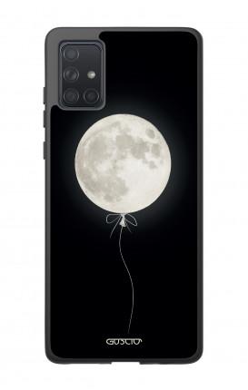 Cover Bicomponente Samsung A71 - Palloncino lunare