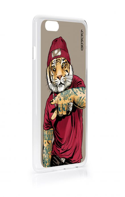 Cover Samsung Galaxy S3 mini i8190 - Hip Hop Tiger