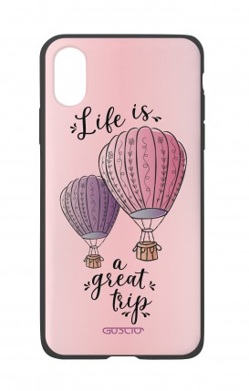 Cover Bicomponente Apple iPhone XR - Mongolfiere