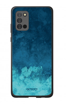 Samsung A02s Two-Component Cover - Mineral Pacific Blue