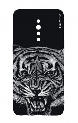 Cover Oppo Reno Z - Black Tiger