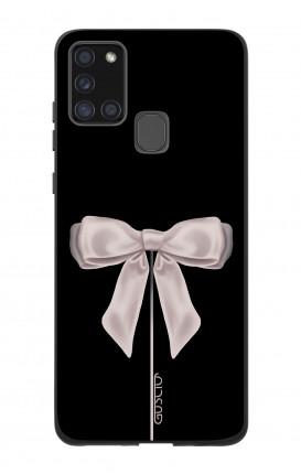 Case Bicomponente Samsung A21s - Fiocco di raso