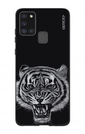 Samsung A21s Two-Component Cover  - Black Tiger