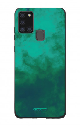 Samsung A21s Two-Component Cover  - Emerald Cloud