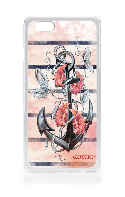 Cover Samsung Galaxy S4 Mini GT i9190 - Anchor and flowers