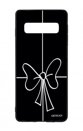 Samsung S10e Lite WHT Two-Component Cover - Bow Outline