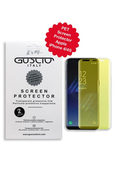 Screen Protector Apple iPhone 4/4s - Neutro