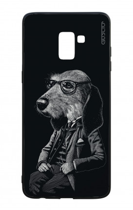 Samsung A8 2018 WHT Two-Component Cover - Elegant Dogstyle