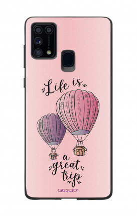 Cover Samsung M31 - Life is a Great Trip