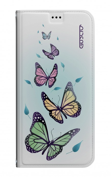 Cover STAND Apple iPhone7/8 - Farfalle & foglie