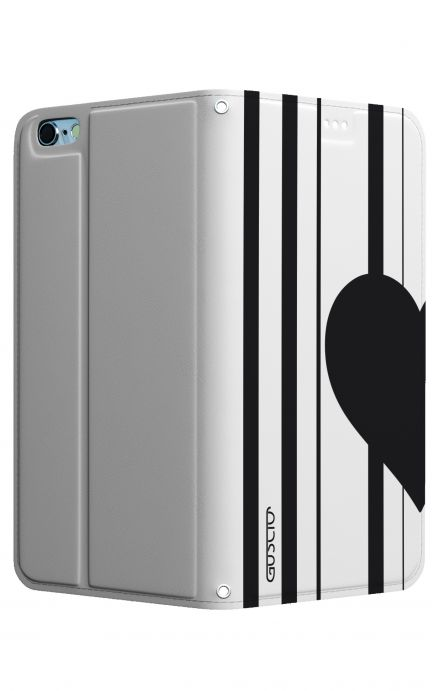 Cover STAND Apple iPhone7/8 - Cuore a metà