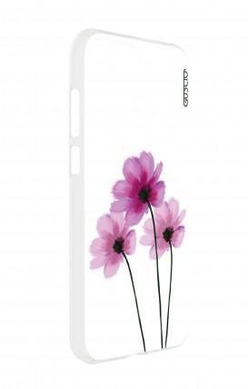 Cover Huawei P9 PLUS - Bandiera americana e fiori