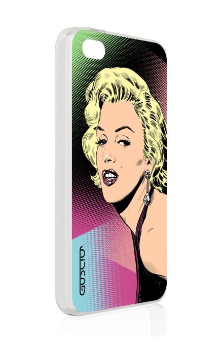 Cover Apple iPhone 4/4S - Marilyn Pop