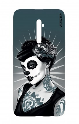 Cover Oppo Reno 2Z - Calavera Grey Shades