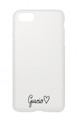 Cover Diamonds Apple iPh7/8 Plus  - Guscio con Amore