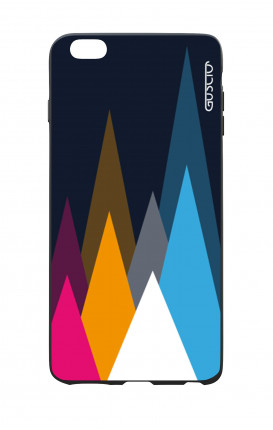 Cover Bicomponente Apple iPhone 7/8 Plus - Cime su fondo Blu