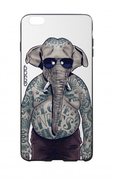Apple iPhone 6 PLUS WHT Two-Component Cover - WHT Elephant Man