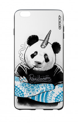 Apple iPhone 6 PLUS WHT Two-Component Cover - WHT Pandacorn Tattoo