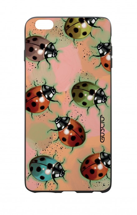 Apple iPhone 6 PLUS WHT Two-Component Cover - Lady bugs