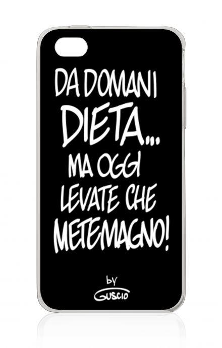 Cover Apple iPhone 4/4S - Da Domani Dieta