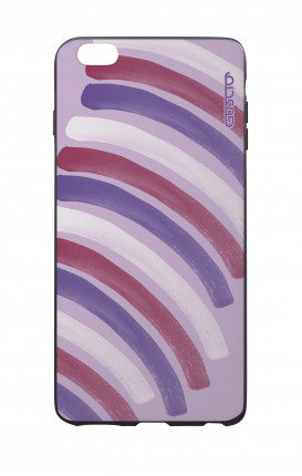 Apple iPhone 6 PLUS WHT Two-Component Cover - Pink Stripes