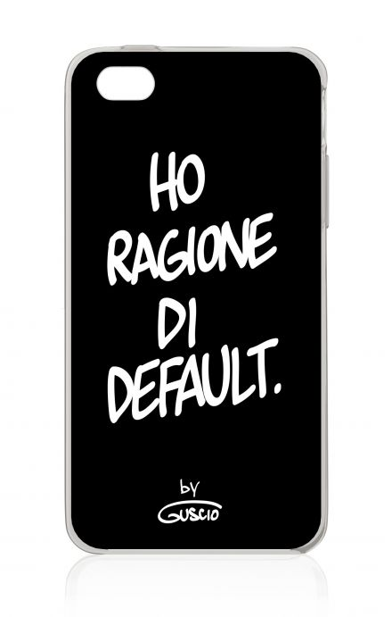Cover Apple iPhone 4/4S - Ragione Di Default