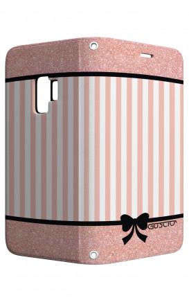 Case STAND Samsung A6  - Romantic pink