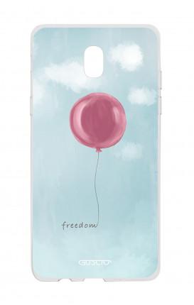 Cover TPU Samsung Galaxy J3 2017 - palloncino della libertà