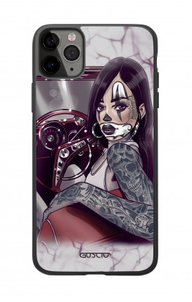 Cover Bicomponente Apple iPhone 11 PRO - Pin Up Chicana in auto