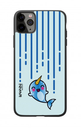 Apple iPhone 11 PRO Two-Component Cover  - Narwhal Kawaii