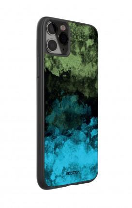Cover Bicomponente Huawei P30Lite - Astratto nero