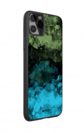 Huawei P30Lite WHT Two-Component Cover - Black Abstract