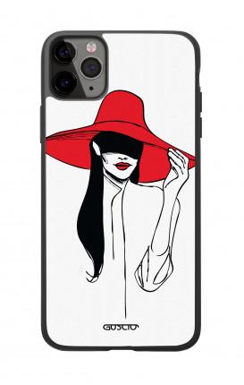 Cover Bicomponente Apple iPhone 11 PRO - Cappello rosso