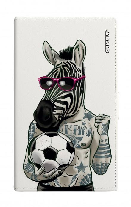 Cover Universal Casebook size7 - Zebra bianco