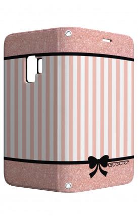 Cover STAND SAMSUNG A6 Plus - Rosa romantico