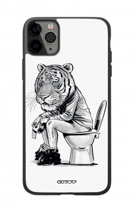 Apple iPhone 11 PRO Two-Component Cover  - Tiger on WC