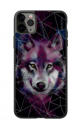 Apple iPhone 11 PRO Two-Component Cover  - Neon Wolf