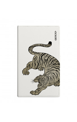 Cover Universal Casebook size2 - Tigre giapponese bianco