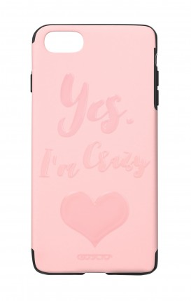 Cover Skin Feeling Apple iphone 7/8Plus PNK - Yes. I'm Crazy