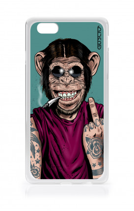 Cover TPU Apple iPhone 6/6s - Scimmia felice
