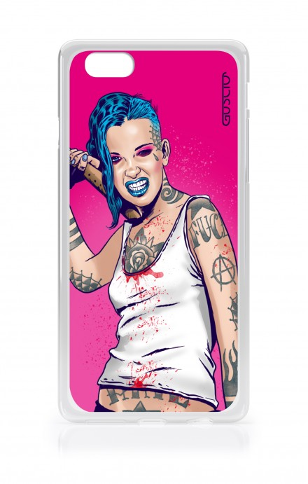 Cover Apple iPhone 6/6s - Girl in Turqoise