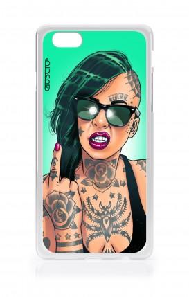 Cover Apple iPhone 6/6s - Ragazza capelli verdi