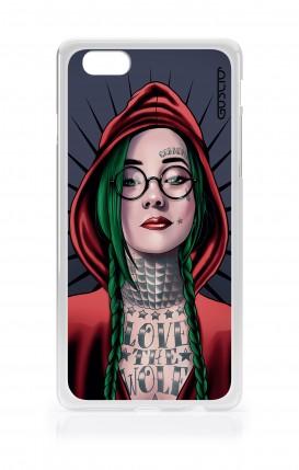 Cover Apple iPhone 6/6s - Cappuccetto rosso tatuata