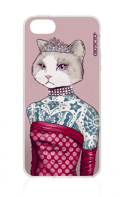 Cover Apple iPhone 5/5s/SE - Gattina principessa
